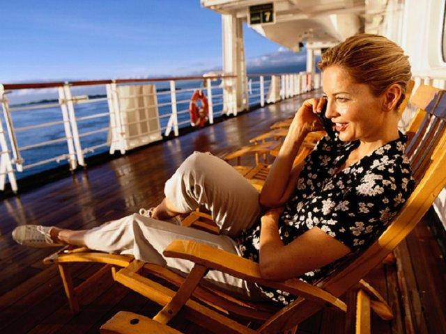 Como usar o celular em uma viagem de navio ou cruzeiro