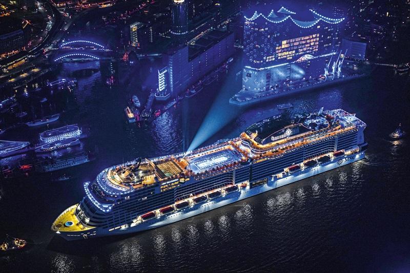 Navio MSC Grandiosa