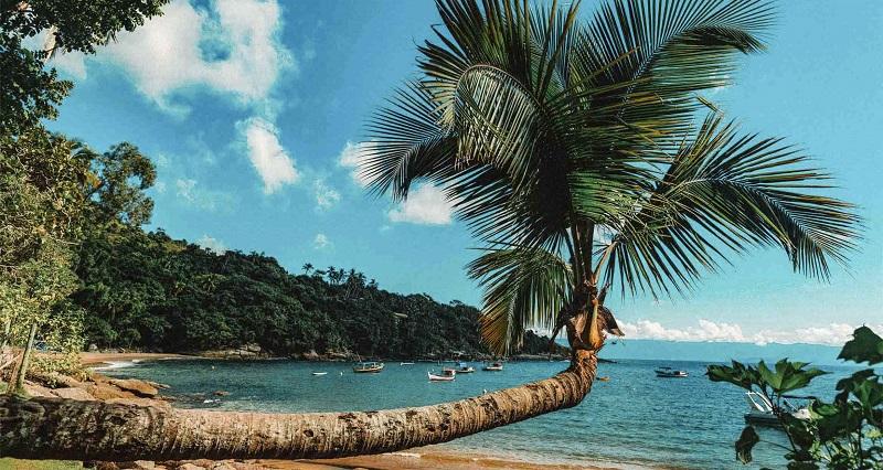 Praia de Ilhabela, Brasil