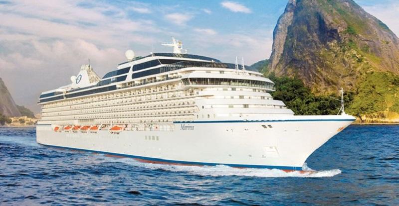 Marina, da empresa Oceania Cruises