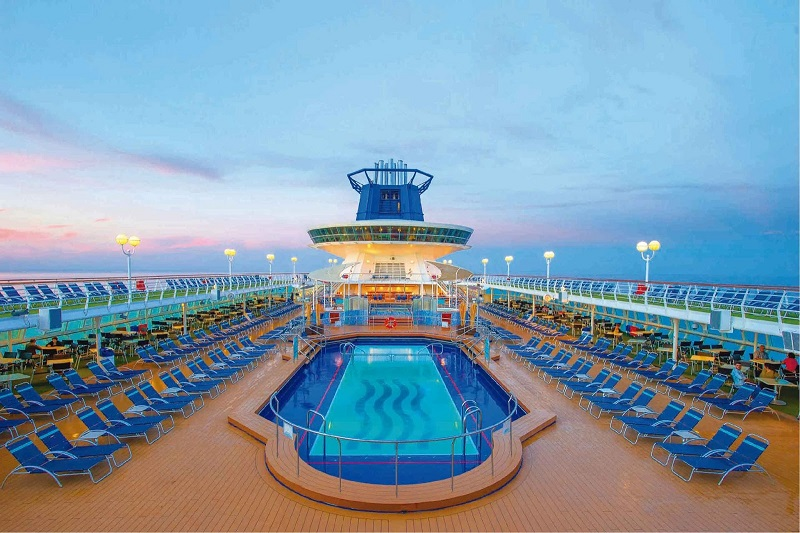 Piscina do Pullmantur Sovereign