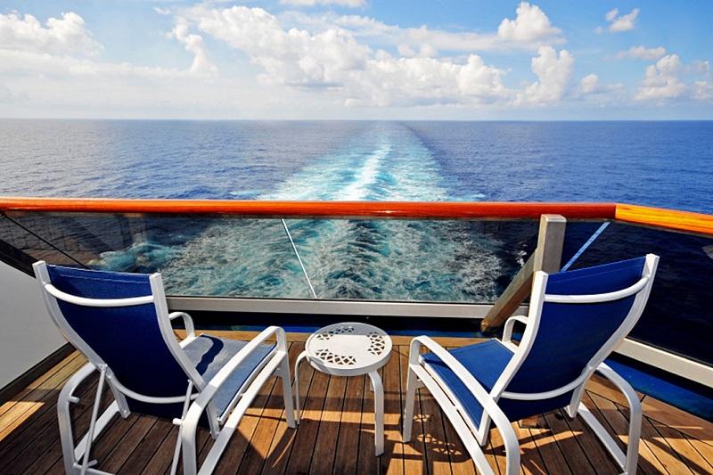 Deck do Seabourn Venture